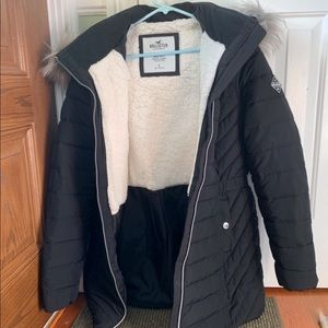 Hollister Sherpa jacket